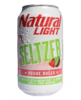Natural Light Seltzer House Rules Strawberry &...