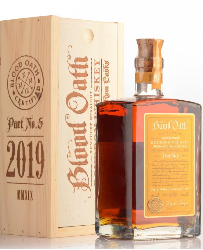 Blood Oath Bourbon Limited Release 98.6 750ml