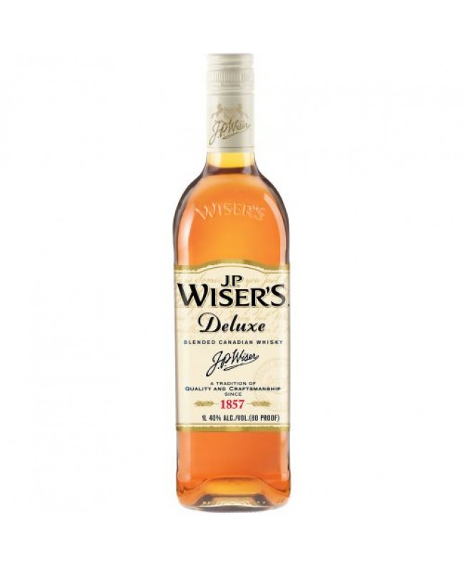 Wisers Deluxe Canadian Whiskey 1L