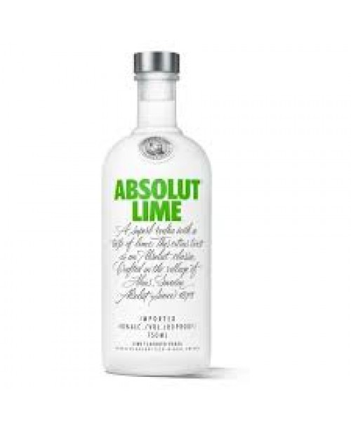 Absolut Vod Lime 750ml