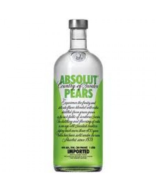 Absolut Vod Pears 750ml