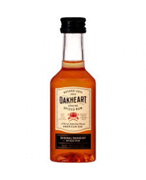 Bacardi Oakheart Spiced 50ml