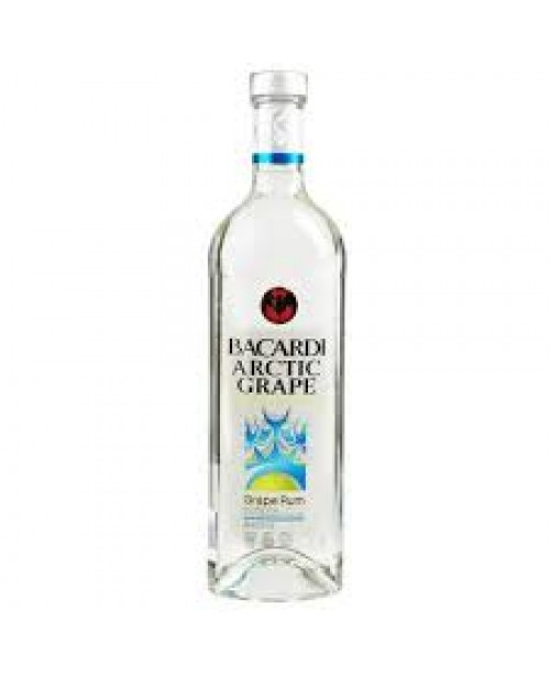 Bacardi Rum Arctic Grape 750ml