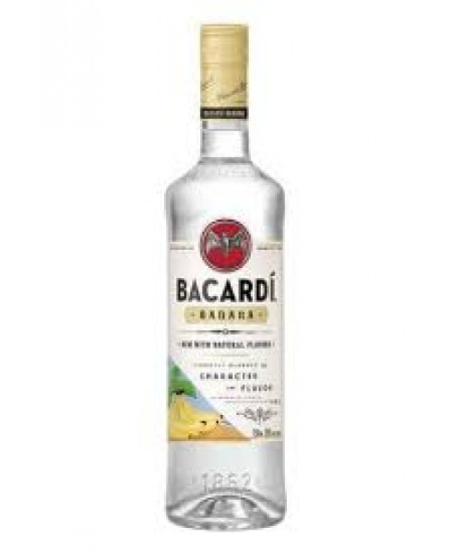 Bacardi Rum Banana 750ml