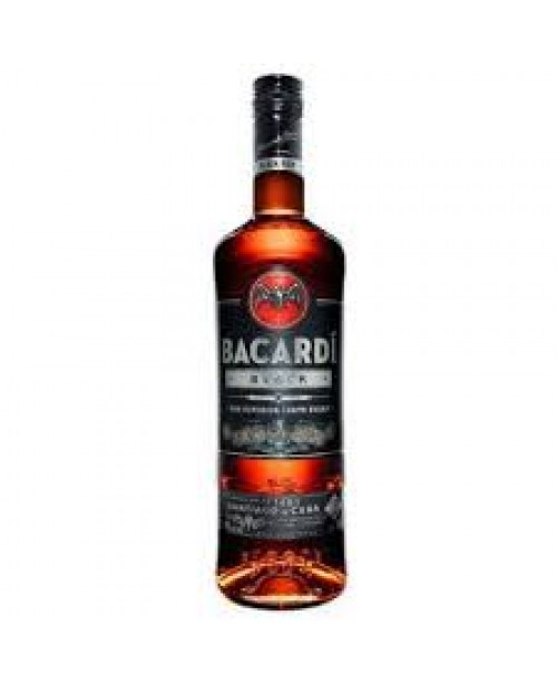 Bacardi Rum Black 750ml