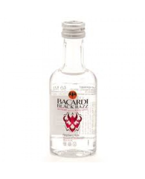 Bacardi Rum Black Razz 375ml