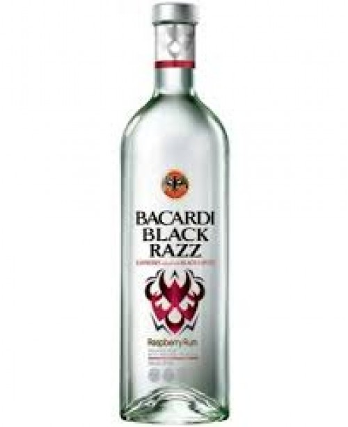 Bacardi Rum Black Razz 750ml
