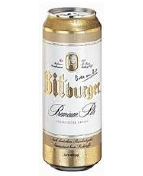 Bitburger Can 16.9oz Single