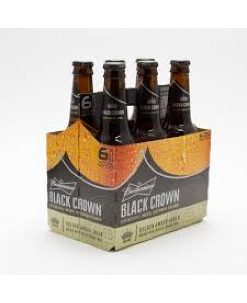 Bud Black Crown 6pk